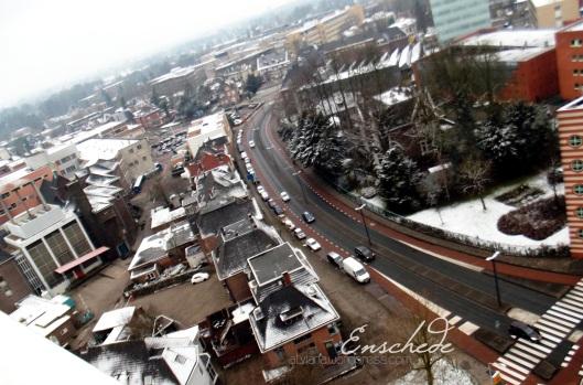 Snowy Enschede...